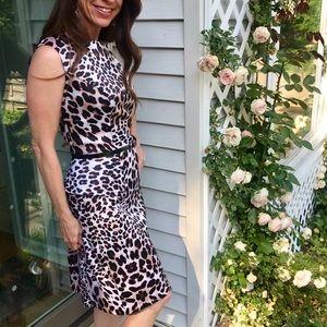 AGB Dresses - {AGB Dresses} Leopard print wiggle dress